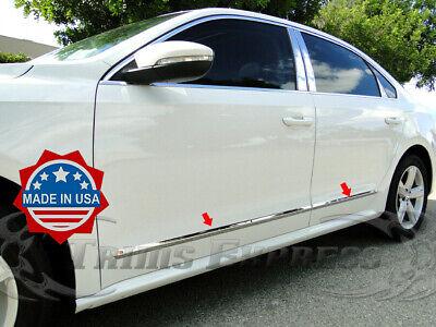 TYGER For 2012-2019 Volkswagen Passat 6PC Stainless Steel Pillar Post Trim