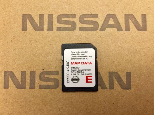 Genuine Nissan Connect Lcn2 SAT NAV SD Card 2017 Maps 25920 4kj0c