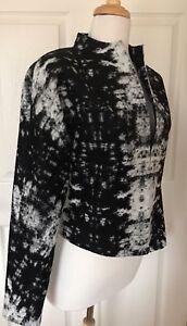 268 Soft Marmor Hvid S Classiques Wool Jacket Entier Blend Abstrakt Sort nOwqPvafZ