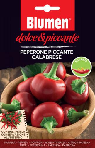 TUTTE LE VARIETA/' SEMI PEPERONCINO BLUMEN