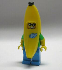 LEGO Minifigure Banana Suit Guy 71013 Man Food Mascot Series 16 Sunglasses