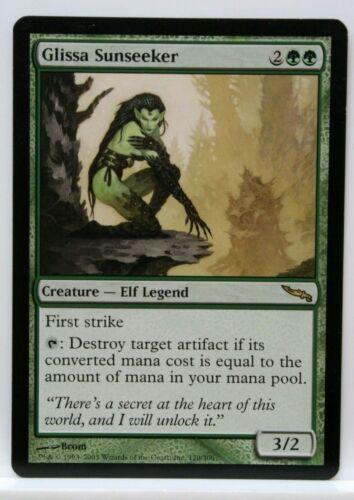 Glissa Sunseeker FOIL Mirrodin PLD Green Rare MAGIC GATHERING CARD ABUGames