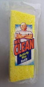 Mr Clean 4221 Butterfly Mop Head Refill Sponge Wipe Broom