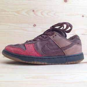 lowest price f4a90 93a24 Image is loading VINTAGE-NIKE-DUNK-SB-LOW-BISON-SHOES-SEA-