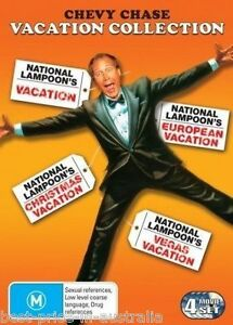 NATIONAL LAMPOON's VACATION Collection DVD NEW CHRISTMAS 4-MOVIES ...