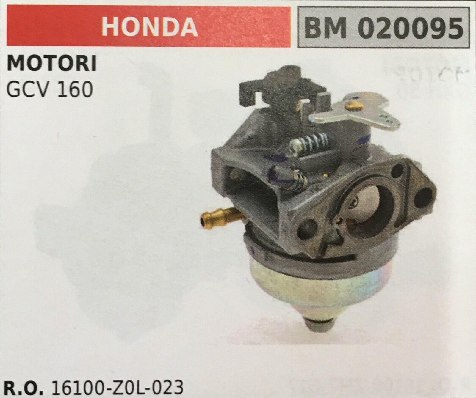 Vergaser A Ölwanne Brumar Honda BM020095 Motoren Gcv 160