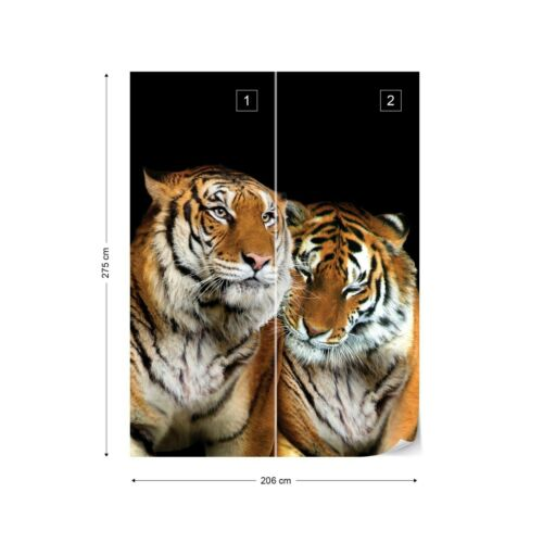 Wall Mural Photo Wallpaper Picture EASY-INSTALL Fleece Natural Animals Tiger Cat