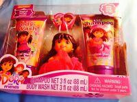 Dora N Friends Soap N Scrub Bath Set Shampoo N Body Wash Plus Bath Hook Item