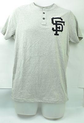 Mlb San Francisco Giants Red Jacket M T-shirt Kurzärmelig Knopfleiste Supplement Die Vitalenergie Und NäHren Yin Baseball & Softball