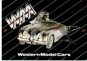 Western-1-43-1-24-Scale-Handmade-White-Metal-Models-Cars-Catalogue-Poster
