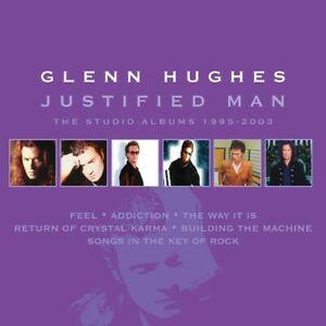 Glenn-Hughes-Justified-Man-Studio-Albums-1995-2003-New-CD-Boxed-S