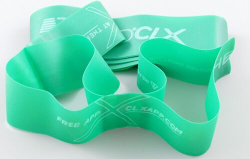 CLX Latex FREE Thera-Band Theraband Exercise Fitness Band for allergy sufferers 7 Colours