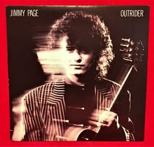 1988 Issue JIMMY PAGE 'OUTRIDER' 33rpm (NM-) Vinyl  SOLO LP Plant JASON BONHAM