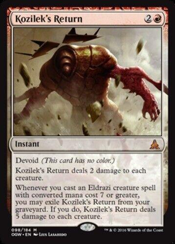 Kozilek/'s Return x1 Magic the Gathering 1x Oath of the Gatewatch mtg card
