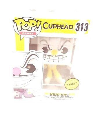Funko Chase King Dice Pop 3 75 Quot Vinyl Figure Cuphead Ebay
