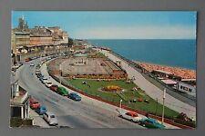 R&L Postcard: Ramsgate Wellington Crescent & Bandstand 1960s Cars Anglia Corsair