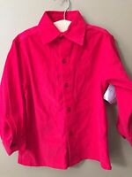 Boys 3t Boutique Strasburg Red Corduroy Dress Shirt Nwtchristmas Holiday