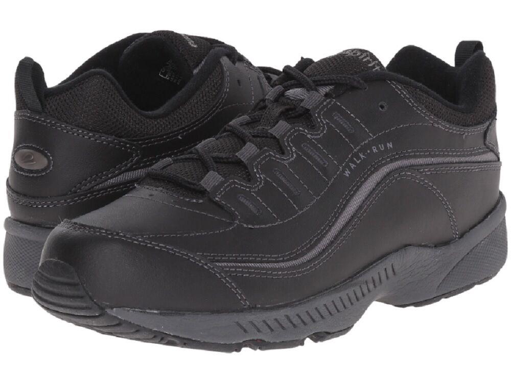 femmes  Easy Spirit Walking Sneakers - Romy -  noir /Dark  Gris  - New in Box!!