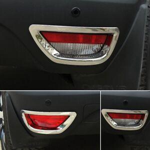 For Renault Captur 2014 2016 Chrome Exterior Rear Fog Lamp Light