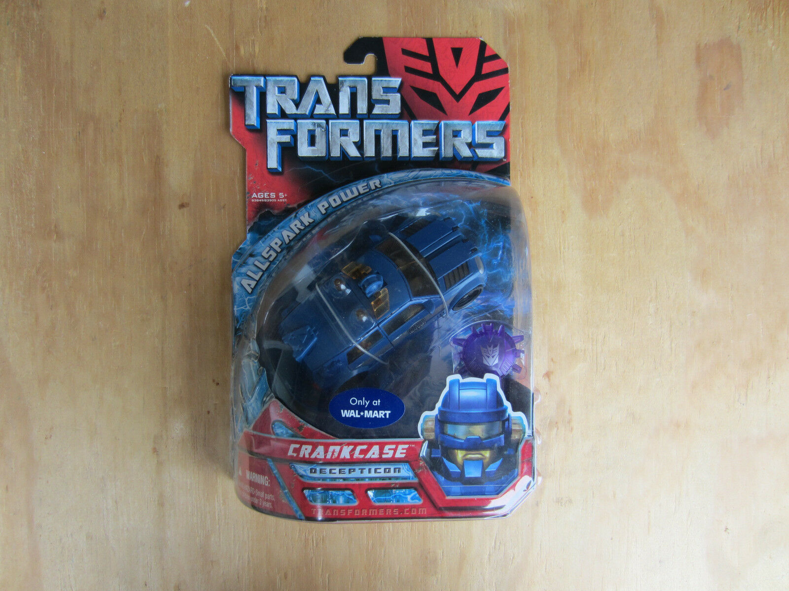 Transformers Movie Action Figure Decepticon Crankcase Walmart Excl new MOSC 2007