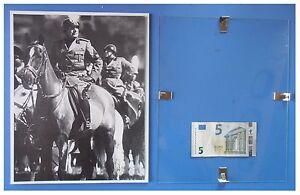 Benito-Mussolini-a-cavallo-cavaliere-duce-fascismo-quadro-cornice-vetro