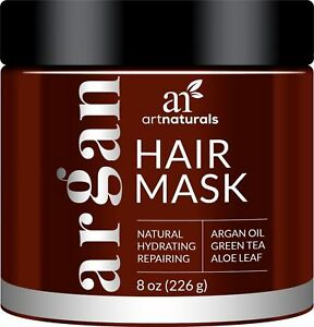 Art Naturals Argan Oil Hair Mask Deep Conditioner 8 Oz 100 Organic