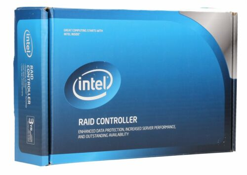 Intel RAID SATA 8 internal port w// 256MB cache PCI-E 2.0 x8 Controller RT3WB080