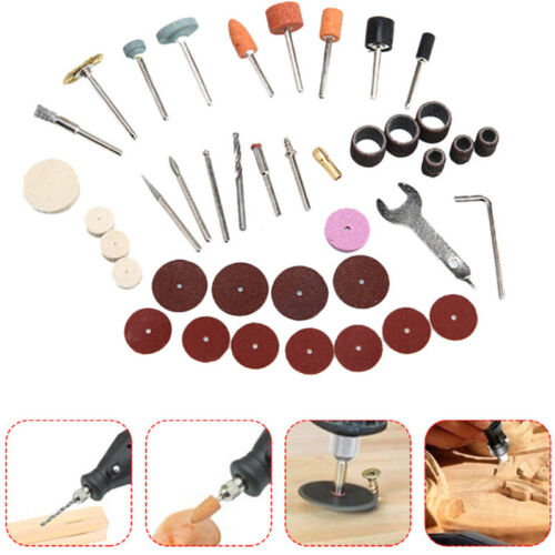 40xMini Electric Drill Grinder Rotary Tool Grinding Polishing Set Tools Use Sale
