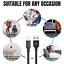 thumbnail 7 - 3 Pack 6Ft USB Charger Cable For iPhone 11 XR 8 7 Plus Fast Charge Charging Cord