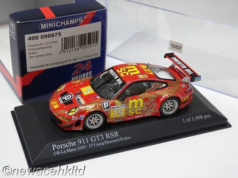 PORSCHE 911 GT3 RSR Endurance Asia Team Minichamps MODELS 1 43  400096975