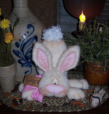 Primitive Patti/'s Ratties Bunny Rabbit Doll Carrot Ornie Paper Pattern #571