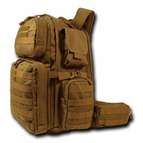 Brown Tactical Rex T-Rex Assault Pack Day Bag Military Army Hiking Backpack