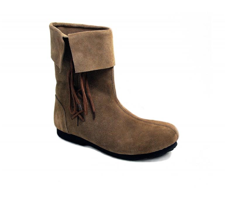 Lederschuhe historische Schuhe Mittelalterschuhe Stulpenstiefel aus Wildleder       | Fierce Kaufen  | München Online Shop  | Fairer Preis  | Diversified In Packaging  | Schöne Kunst  0bfaeb