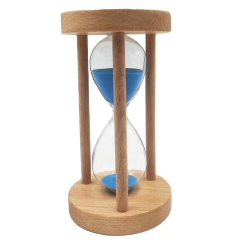 6//8//12//20//25 Minuten Sanduhr Sandglass mit Holzrahmen Tischdeko Timer