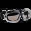Occhiali-Da-Casco-Moto-Scooter-Vespa-CGM-701V-CLASSIC-Silver-Lente-Fume-039 miniatura 1