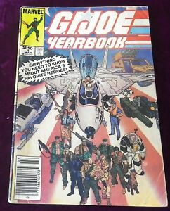 Image Is Loading G I JOE YEARBOOK ISSUE 1 COMIC BOOK 1985