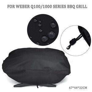 BBQ-Abdeckung-Grill-Abdeckhaube-Cover-fuer-Weber-7110-Q100-1000-Serie-Wasserdicht