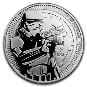 Niue 2 Star Wars Stormtrooper 2018 1 Once Monnaiepièces En Argent