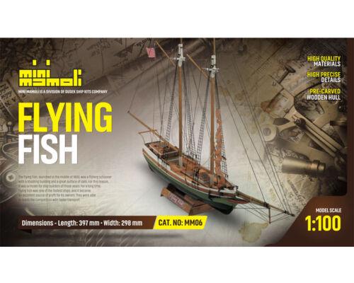 Flying Fish Bausatz 1:100 Mini Mamoli 21806 Krick