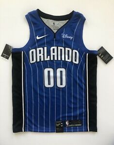 e6939530973 Aaron Gordon Orlando Magic Nike Icon Edition Blue Jersey w Disney ...