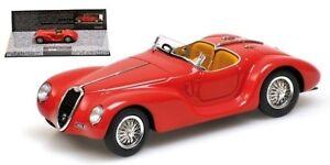Alfa Romeo 6c 2500 Ss Corsa Spider 1939 Rouge Minichamps 437120230 1/43 Rosso Rot