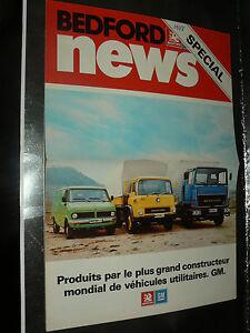 Grand-Prospectus-Camion-BEDFORD-1978-Truck-LKW-prospekt-brochure-catalogue