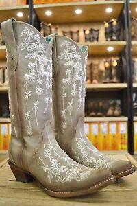 dames kristallen C3178 trouwschoenen bot Corral borduurwerkswarovski verkoop bloemen nX0ZOPNwk8
