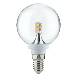 Paulmann-282-64-LED-Mini-Globe-Klar-Kugel-2-5W-E14-warmweiss-60mm-Sparlampe