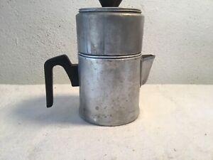 Vintage-Aluminum-Drip-O-Lator-Stove-Top-Drip-Coffee-Pot-3-Cups