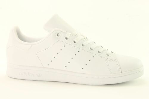adidas Originals Stan Smith J White Leather Youth Trainers 5 UK / 38 EU