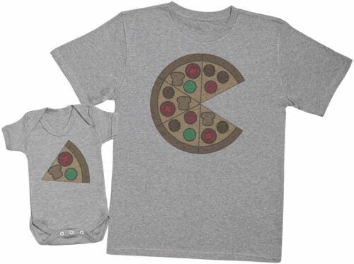 Passende Vater Baby Geschenkset Baby Body Pizza And Pizza Slice