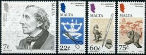 Malta People Stamps 2005 MNH Hans Christian Andersen Writers Fairy Tales 4v Set