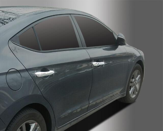 Chrome Door Handle Catch Cover Molding Trim B876 for Hyundai Elantra 2016