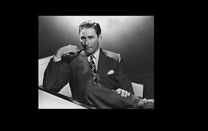 Details about ERROL FLYNN 8x10 PICTURE SUAVE DEBONAIR WITH PIPE PHOTO